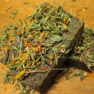 Мыло-скраб на травах Спивак