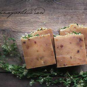Мыло Черёмуховый мёд Ayurvedic Soap Laura Forest