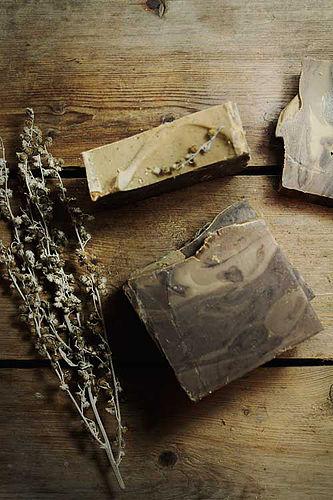 Мыло Лечебное с дёгтем и полынью Ayurvedic Soap Laura Forest