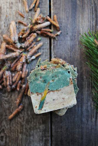 Мыло Сосновый лес Ayurvedic Soap Laura Forest