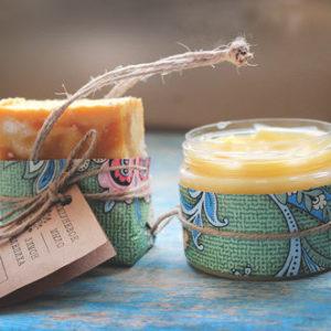 Шампуневое мыло Облепиха и лимон Ayurvedic Soap Laura Forest