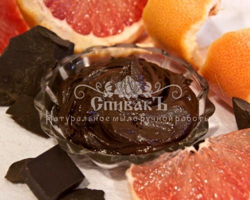Шоколадное масло для кожи Грейпфрут Спивак