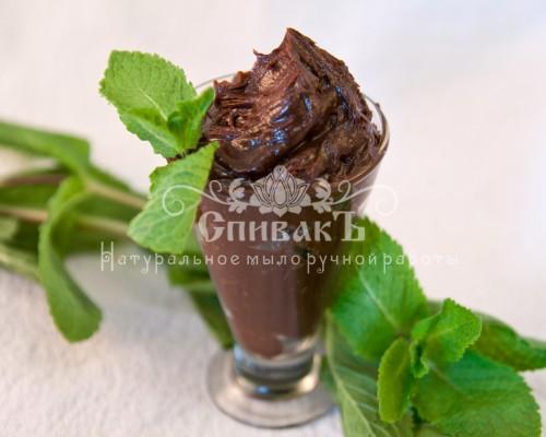 Шоколадное масло для кожи Мята Спивак