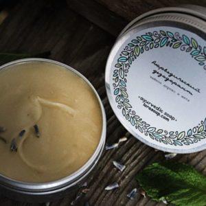 Натуральный твердый дезодорант Ним и лаванда Ayurvedic Soap Laura Forest