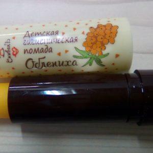 Детская гигиеническая помада Облепиха СпивакЪ