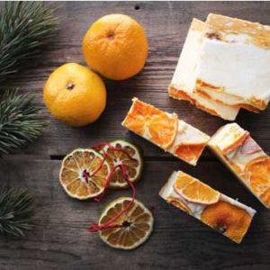 Мыло Взбитое Шампанское и мандарины  Ayurvedic Soap Laura Forest