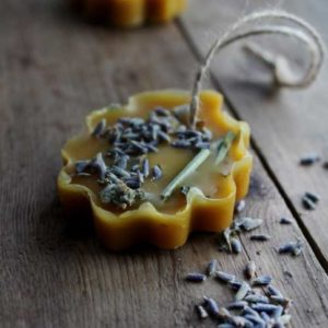 Аромапластины лаванда и яркий мандарин   Ayurvedic Soap Laura Forest