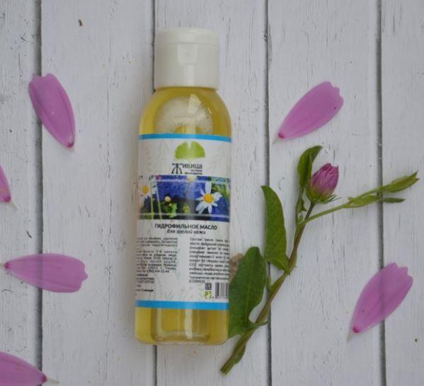Гидрофильное масло для зрелой кожи Живица