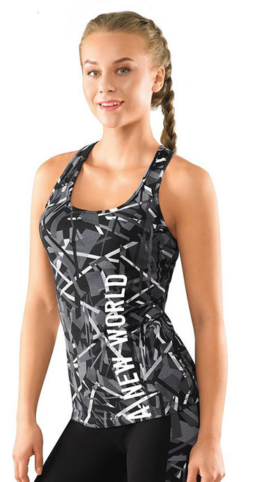 Майка женская Фитнес Clever Wear CLE LM28-521
