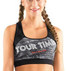 Майка укороченная женская Фитнес Clever Wear CLE LT28-520/1