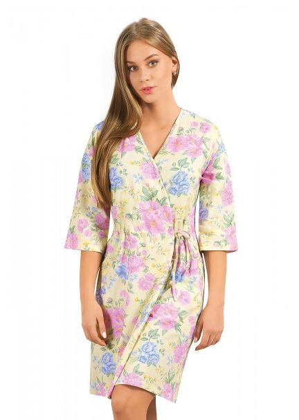 Халат женский Ботаника Clever Wear CLE LX28-658