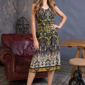 """Платье домашнее женское """"Erica"""" 16351 Mia-Mia"""