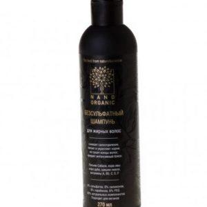 Шампунь для жирных волос Nano Organic