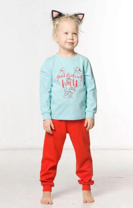 """Пижама для девочек """"Белье и пижамы""""WFAJP3107 Pelican"""