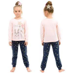 """Пижама для девочек """"Поймай звезду""""WFAJP3785U Pelican"""
