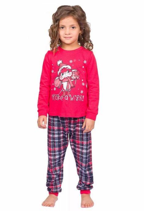 """Пижама для девочек """"Белье и пижамы""""WFAJP3786U Pelican"""