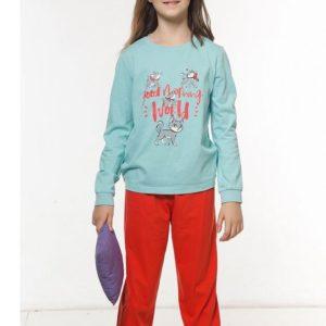 """Пижама для девочек """"Белье и пижамы""""WFAJP4107 Pelican"""
