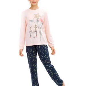 """Пижама для девочек """"Поймай звезду"""" WFAJP4785U Pelican"""