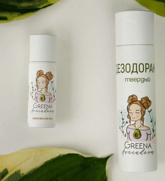 Натуральный дезодорант «Greena Avocadova»